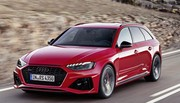 L'Audi RS4 restylée muscle son visage