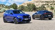 BMW dévoile les X5 M Competition et X6 M Competition