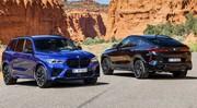 BMW dévoile les X5 M et X6 M