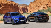 Plus de 600 ch pour les BMW X5 et X6 M Competition