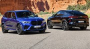 BMW X5 et X6 M Competition (2020) : mâles dominants