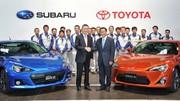 Toyota grignote encore un peu Subaru