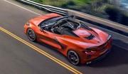 La nouvelle Corvette Stingray passe en mode cabriolet
