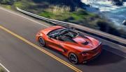 La Corvette Stingray C8 passe en mode cheveux au vent !