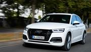 Essai Audi Q5 hybride rechargeable: bon en société