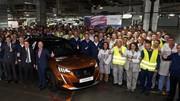 La production du nouveau Peugeot 2008 lancée en Espagne
