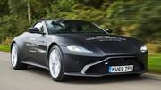 Premières images de l'Aston Martin Vantage Roadster