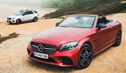 Essai Mercedes C220d Cabriolet : à la rencontre de la vague géante de Nazaré