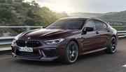 La BMW M8 se décline en version Gran Coupé