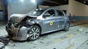 La Peugeot 208 ne décroche que 4 étoiles à l'Euro NCAP