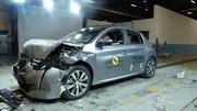 Peugeot 208 (2019) : 4 étoiles au crash-test Euro NCAP