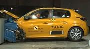 Peugeot 208 2 : seulement 4 étoiles aux crash-tests de l'Euro NCAP