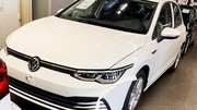 VW Golf VIII : la fuite