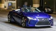 La Lexus LC Cabriolet surprise sans camouflage