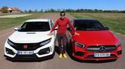 Essai Honda Civic Type R vs Mercedes A35 AMG par Soheil Ayari : lutte des classes