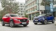 Essai : le Mazda CX-30 défie le Peugeot 3008