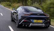 Essai Aston Martin Vantage boîte manuelle