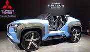 Mitsubishi Mi-Tech Concept, un buggy avec turbine de jet !