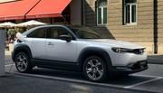 Mazda MX-30 (2020) : 200 km d'autonomie pour le SUV full électrique Mazda