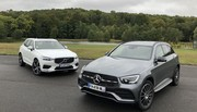 Essai Mercedes GLC vs Volvo XC60 : les leaders du premium