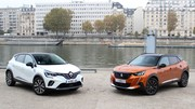 Comparatif vidéo - Peugeot 2008 VS Renault Captur : duel de stars