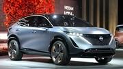 Concept électrique Nissan Ariya, un style qui promet