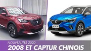 Peugeot 2008 2 et Renault Captur 2: voici les versions chinoises