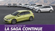 Saga Volkswagen Golf : sept générations de succès