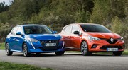 Essai Peugeot 208 PureTech 100 vs Renault Clio TCe 100