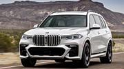 Essai BMW X7 M50d