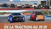100 ans de Citroën. Retour vers le futur au Castellet