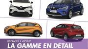 Prix Renault Captur 2. Toutes les versions du SUV Renault à la loupe