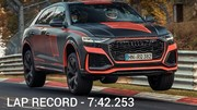Audi : le RS Q8 devient le SUV le plus rapide sur le Nürburgring