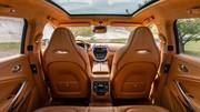 Prenez place à bord de l'Aston Martin DBX