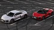 Audi R8 devient propulsion
