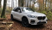 Essai BMW X5 45 e (2019) : la morne de recharge