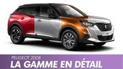 Peugeot 2008 (2020) : Toutes les versions du nouveau SUV en images