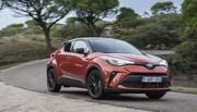 Essai Toyota C-HR restylé (2020) : orange pressée