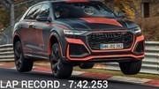 Audi RS Q8 : le SUV le plus rapide sur Nürburgring !