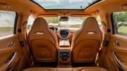 Aston Martin DBX : l'intérieur du SUV dévoilé