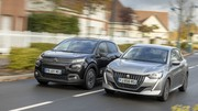 Essai Peugeot 208 BlueHDi 100 vs Citroën C3 BlueHDi 100