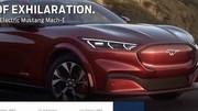 Le SUV électrique Ford Mustang Mach-E en fuite !