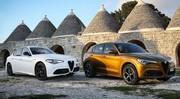 Essai Alfa Romeo Giulia et Stelvio 2020, légères corrections