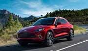 Aston Martin dévoile son premier SUV, le DBX