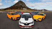 La Renault Mégane RS Trophy-R élue sportive de l'année 2019