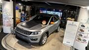 Deux nouvelles séries limitées Jeep présentées au MotorVillage des Champs-Elysées