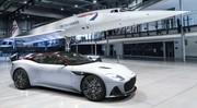 L'Aston Martin DBS Superleggera rend hommage au Concorde
