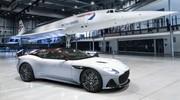 Cette Aston DBS Superleggera rend hommage au Concorde