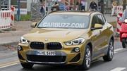 Un BMW X2 hybride rechargeable en préparation