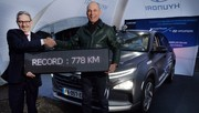 778 km sans ravitailler pour la Hyundai Nexo à hydrogène